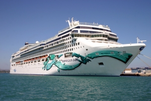 Norwegian jade in Mykonos